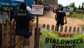 Do obozu obrońców Puszczy Białowieskiej wkroczyli policjanci