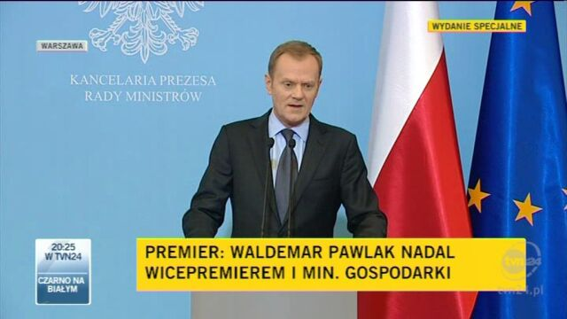 Tusk ocenia ministrów (TVN24)
