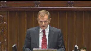 Tusk: Obniżymy deficyt budżetowy, szybko wejdziemy do strefy euro