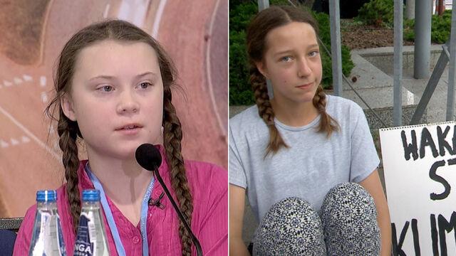 Greta Thunberg wspiera Ingę Zasowską.