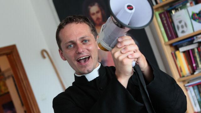 Michał Misiak po ekskomunice.