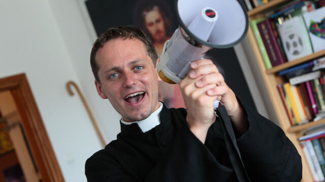 Michał Misiak after excommunication.