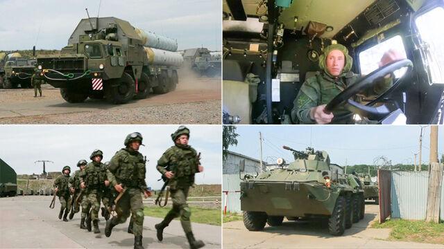 Niezapowiedziane manewry rosyjskich wojsk. 150 tysięcy żołnierzy w gotowości bojowej