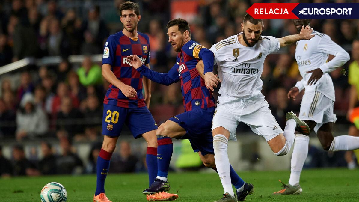 Cudowny gol Benzemy. Real fantastycznie rozpoczął El Clasico
