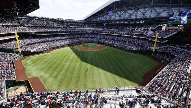 Pełne trybuny na meczu ligi MLB.