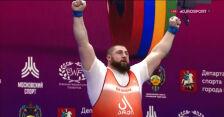 Talachadze mistrzem Europy w kategorii powyżej 109 kg