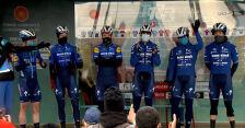 Prezentacja zespołu Deceuninck - Quick Step przed 1. etapem Tour of Turkey