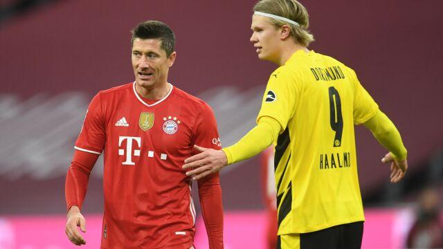 """Lewandowski pod wrażeniem Haalanda. """"Może zostać najlepszym napastnikiem na świecie"""""""