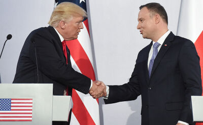 President Trump's speech after meeting with President Duda