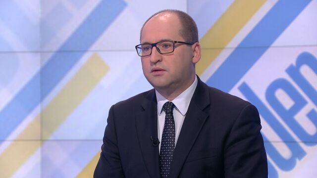 """Adam Bielan był gościem """"Jeden na jeden"""" w TVN24"""
