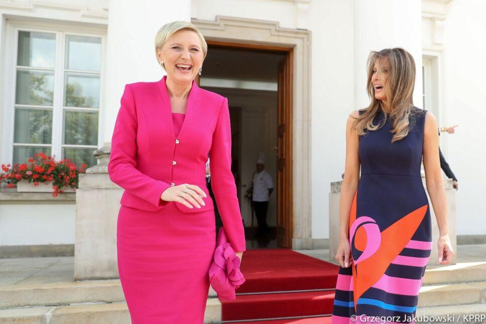 Agata Kornhauser-Duda zaprosiła Melanię Trump na spotkanie w Belwederze