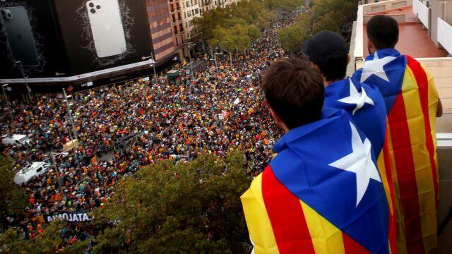 Pół miliona ludzi na ulicach Barcelony