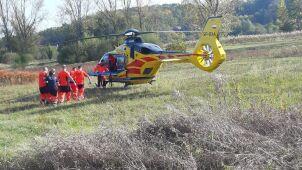 Petarda poważnie raniła 13-latka.