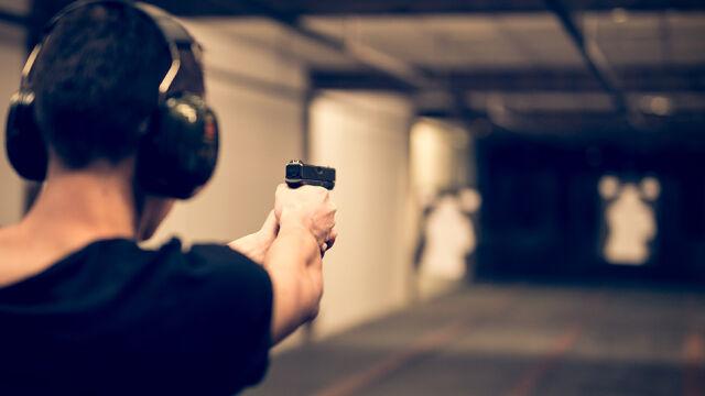 W trakcie ćwiczeń na strzelnicy policjant postrzelił się w nogę