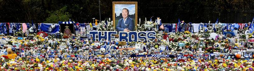 Ogród pamięci przed stadionem. Leicester City upamiętni tragicznie zmarłego szefa