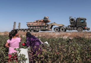 Turecka ofensywa w Syrii