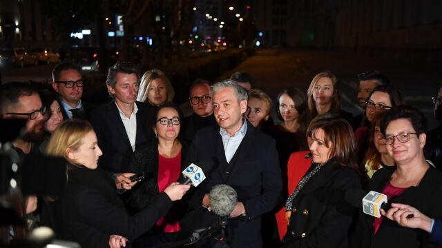 Biedroń: rzadko w Polsce w życiu politycznym zdarzają się takie cuda