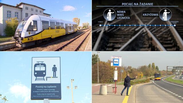 Wprowadzają kolejowe przystanki na żądanie