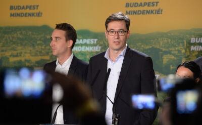 Gergely Karacsony nowym burmistrzem Budapesztu