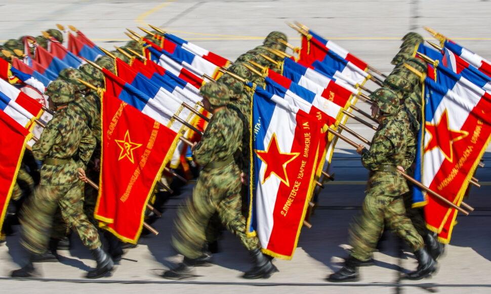 Defilada wojskowa w Belgradzie