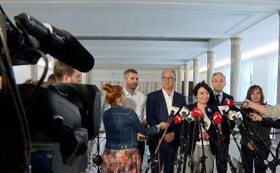 Lewica nie zdecydowała o założeniu wspólnego klubu parlamentarnego