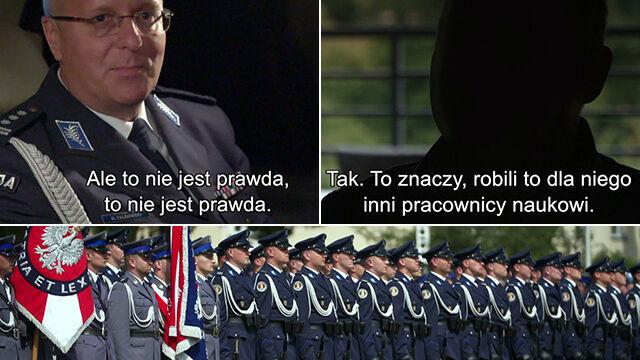 Rektor policyjnej szkoły oskarżany o plagiat  i mobbing.