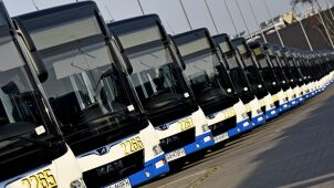 Ecological buses in Gdynia. 55 new low-emission vehicles for public transport