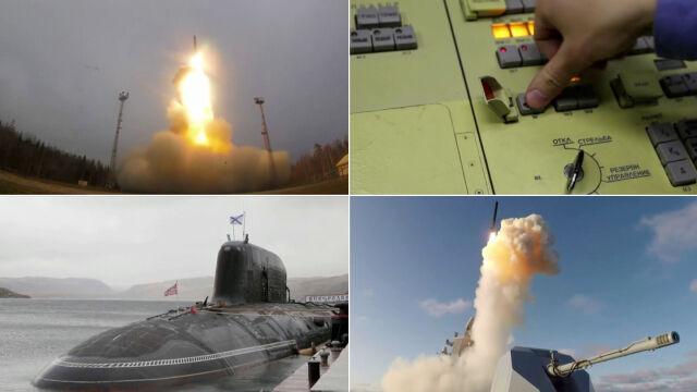 Rosyjskie strategiczne siły jądrowe ćwiczyły odwetowe uderzenie