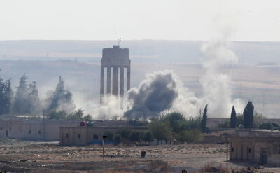 Ofensywa wojsk tureckich i syryjskich rebeliantów na Kurdów
