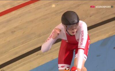 Prokopyszyn z brązowym medalem, Viviani mistrzem Europy w wyścigu eliminacyjnym