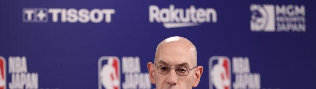 Komisarz NBA nie spełnił żądań Chin.