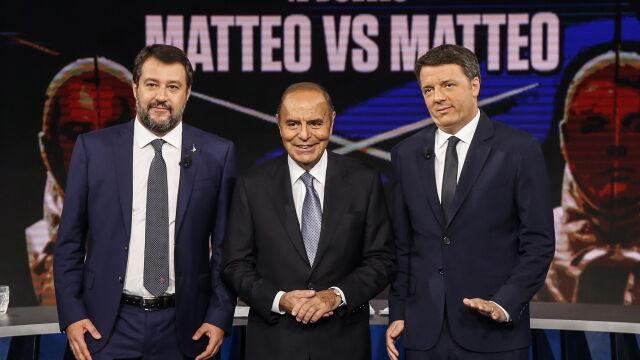 Matteo starł się z Matteo.