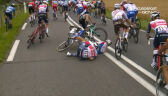 Kraksa na końcu peletonu na 10. etapie Tour de France