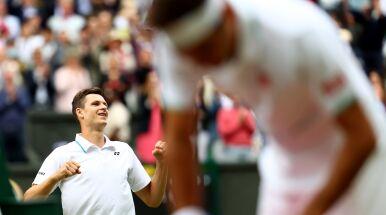 Hurkacz po wyeliminowaniu Federera.