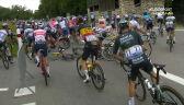 Kolejna kraksa w peletonie na 10. etapie Tour de France