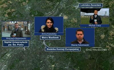 Lotnisko i stacja metra w Brukseli wciąż zamknięte