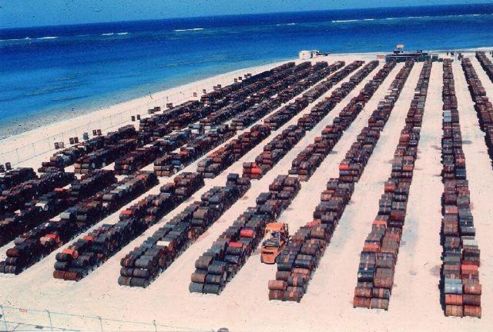 Składowisko trującego Agent Orange, którego nie zdążono wykorzystać podczas wojny w Wietnamie
