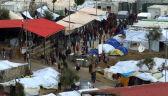 Obóz dla migrantów w Grecji (wideo archiwalne)