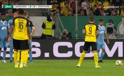 Gole z meczu Uerdingen - Borussia Dortmund