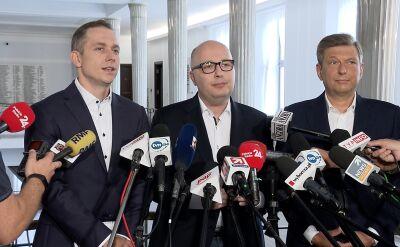 Posłowie PO-KO o nowych ustaleniach ws. lotów Kuchcińskiego
