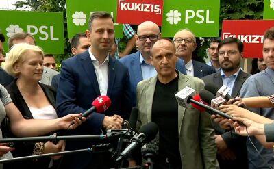 Kukiz: w ramach Koalicji Polskiej podpisaliśmy porozumienie programowe o współpracy w wyborach do Sejmu