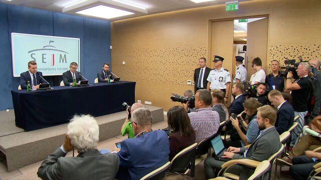 Kuchciński: w czasie mojej kadencji wystąpiły 23 loty, w których oprócz mnie na pokładzie byli moi najbliżsi