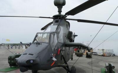 Niemieckie śmigłowce bojowe Tiger uziemione