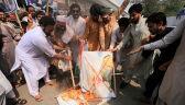 Rośnie spór o Kaszmir. Pakistan zawiesił połączenia kolejowe do Indii