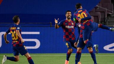 Wyzwanie przerosło Napoli. Barcelona w ćwierćfinale