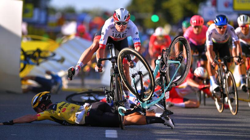 Dyrektor Tour de Pologne: tak się nie robi, to był brzydki faul