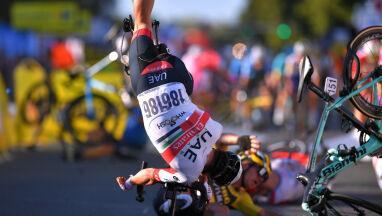 Fatalny finisz pierwszego etapu Tour de Pologne. Jakobsen w śpiączce farmakologicznej