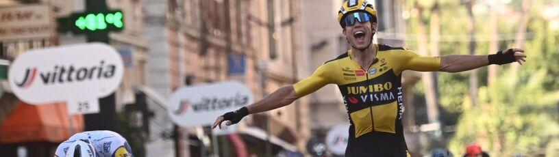 Znakomity tydzień Wouta van Aerta. Wygrał też Mediolan-San Remo