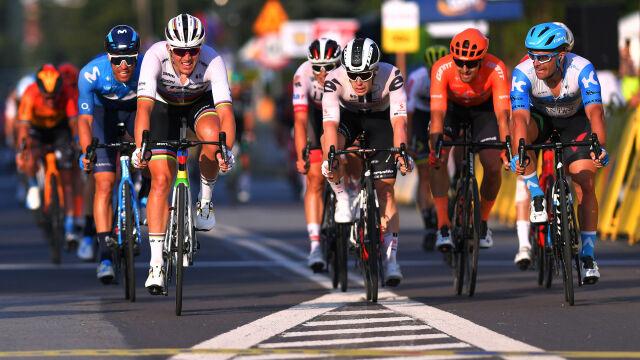 Znów zażarta walka sprinterów w Tour de Pologne. Mistrz świata najlepszy w Zabrzu