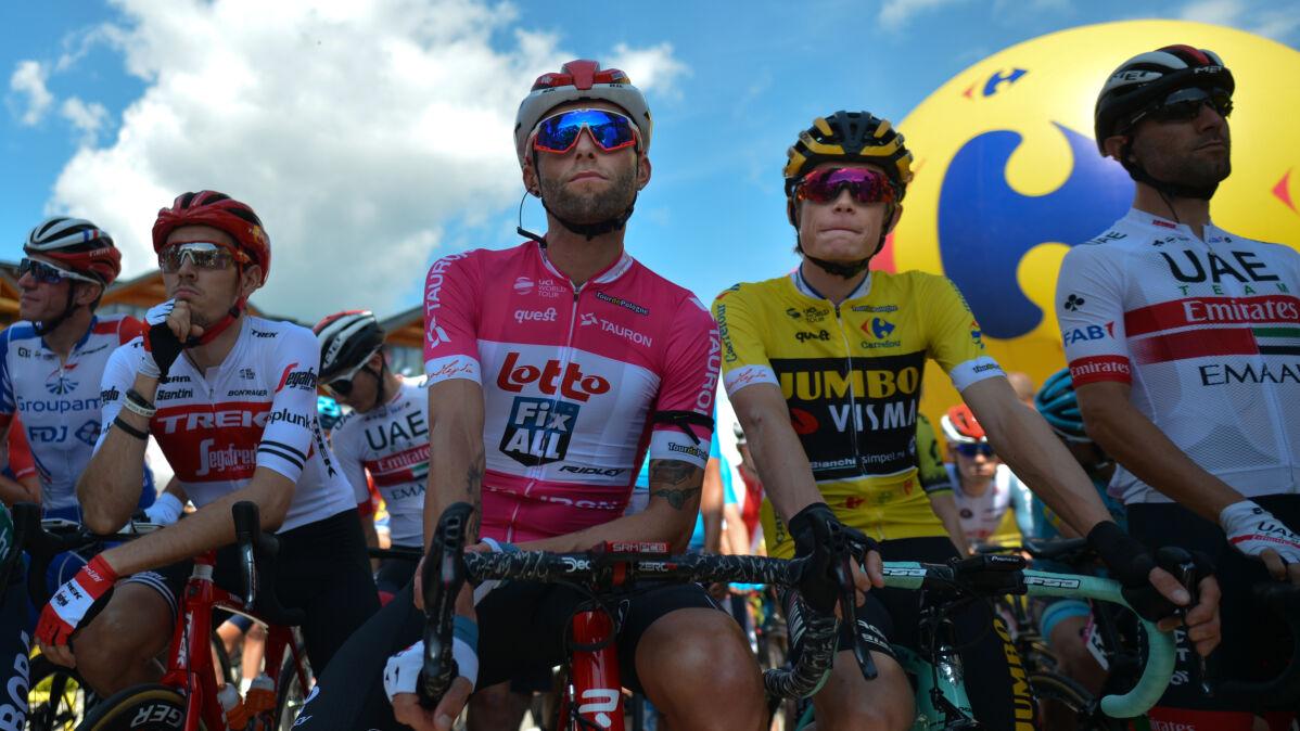 Klasyfikacja generalna Tour de Pologne. Najlepszą dwójkę dzielą cztery sekundy